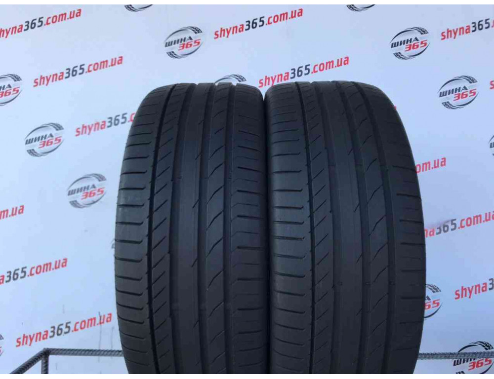 245/45 R19 CONTINENTAL CONTISPORTCONTACT 5 6mm